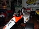 Senna's F1 show car
