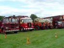 Some of the showmans lorries