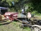 Miniature Traction Engine, Threshing Machine and Baler