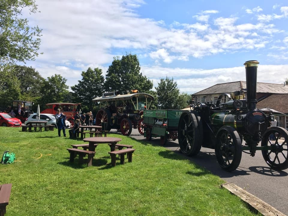 Engines Wagon and lorry at the pub