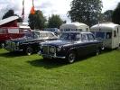 Rover P5's and vintage caravans