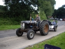 Tractor on the road run