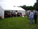 Liss Band playing on Sunday afternoon