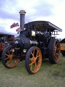 """McLaren Road Locomotive 1421 """"Captain Scott"""", Pickering 2005"""