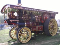 Burrell Showmans Engine Winston Churchill, Pickering 2005