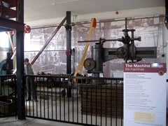 Machinery in the Charles Burrell Museum