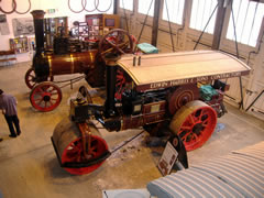 Burrell Traction Engine and Road Roller