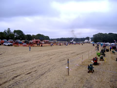 A view of the Threshing area at Heyshott 2005