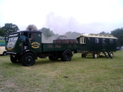 Sentinel 8933 at the Kingsley Rally 2006