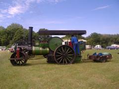 Aveling & Porter 4932 at Kinglsey Rally 2006