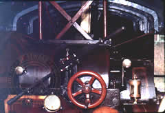 "View from the manstand of ""SIR JOHN FOWLER"""