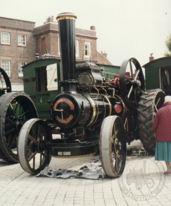 Fowler 7453, Albert, Petersfield Market Square 1996, prior to attending the Downs Rally