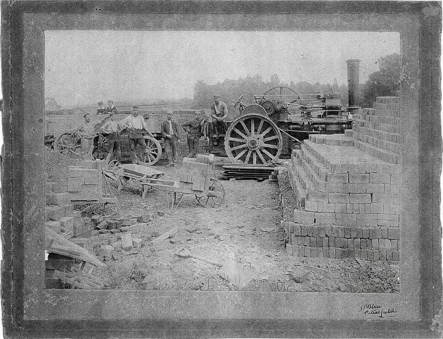 Full Photo of Fowler 7453, Albert, Nightingales Brickworks, Petersfield