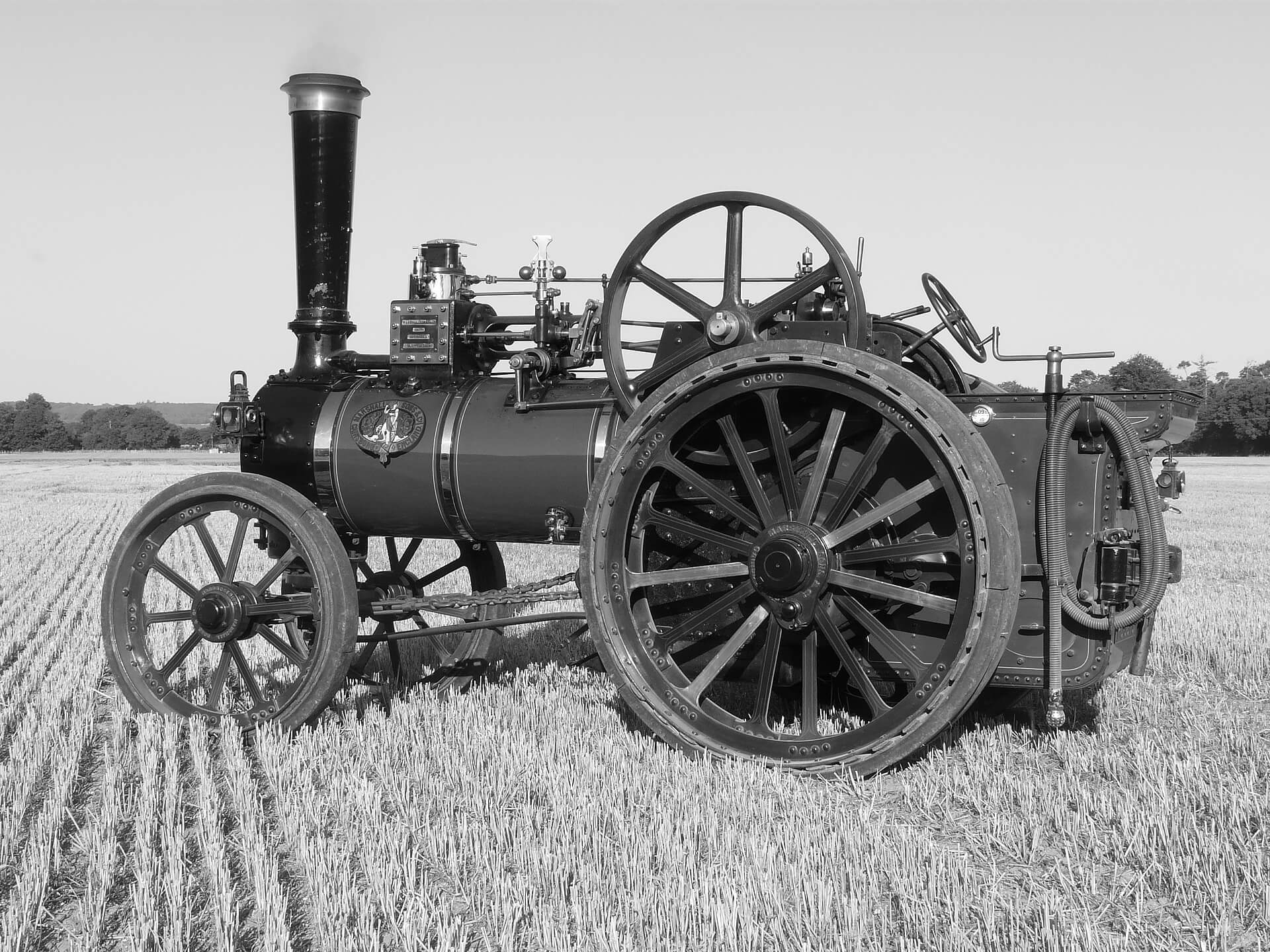 Marshall 14242, Victoria Empress of India at Harvesting the Old Fashioned Way 2009