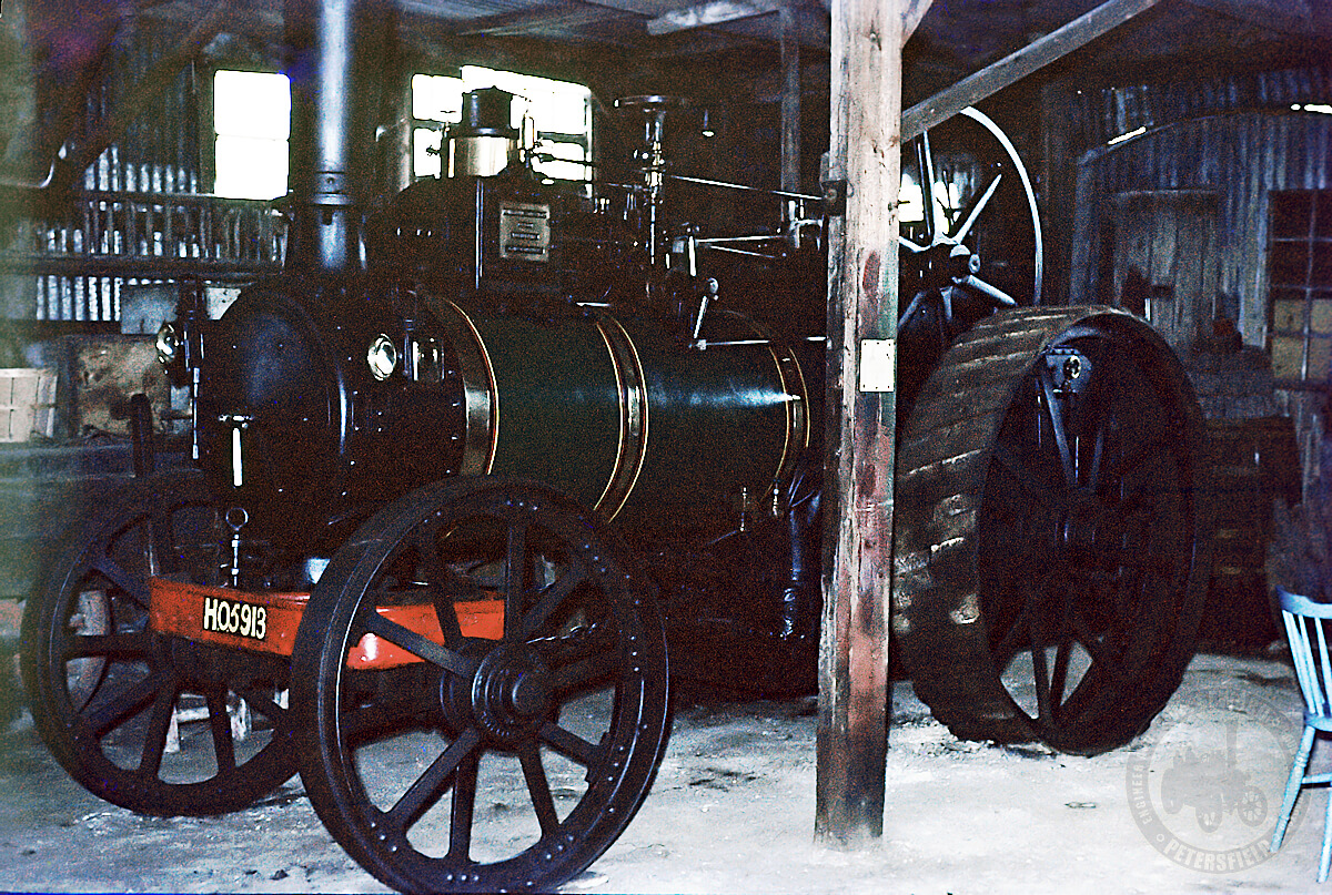 Marshall 14242, Victoria Empress of India, colour photo taken in Sewards workshop in the 1960s