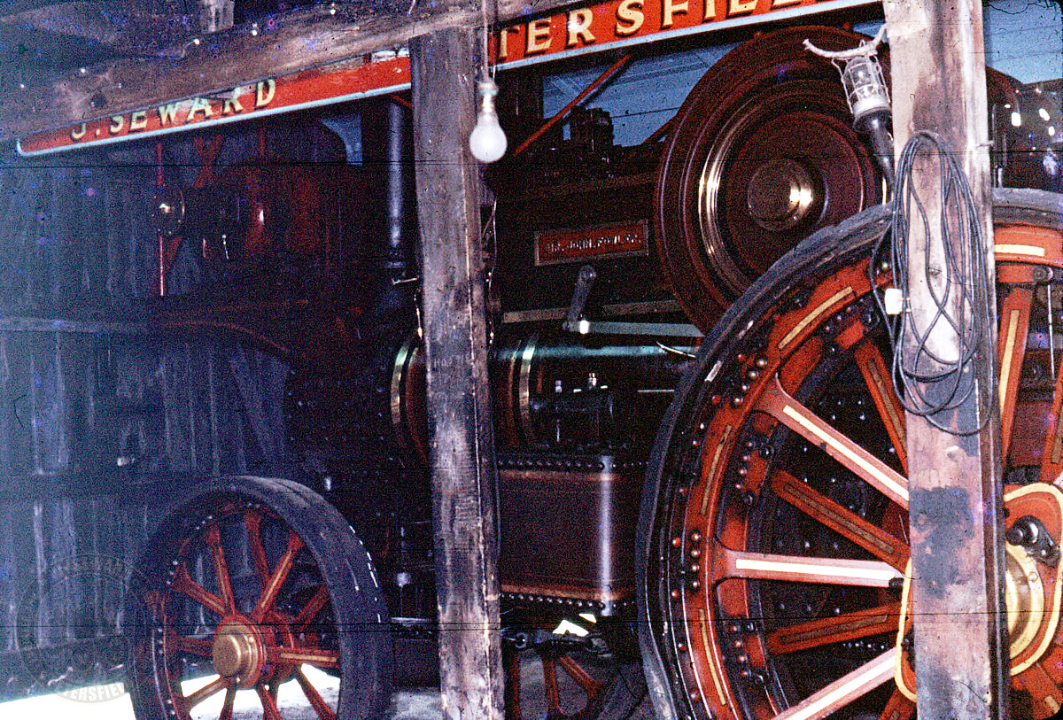 SIR JOHN FOWLER Showmans Road Locomotive, Sewards WorkShop 1960s