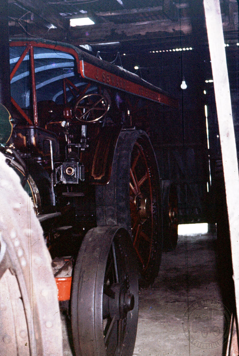 SIR JOHN FOWLER and just behind her is Marshall 14242 in the Chapel Street workshop